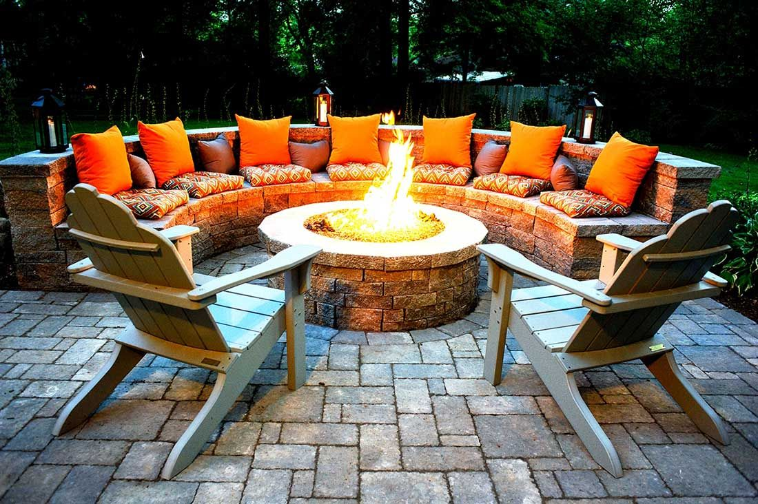 Outdoor Fire Pits-Grand Prairie TX Professional Landscapers & Outdoor Living Designs-We offer Landscape Design, Outdoor Patios & Pergolas, Outdoor Living Spaces, Stonescapes, Residential & Commercial Landscaping, Irrigation Installation & Repairs, Drainage Systems, Landscape Lighting, Outdoor Living Spaces, Tree Service, Lawn Service, and more.
